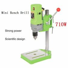 Mini Drill Press Bench Small Electric Drill Machine Work Bench 220V 710W EU Plug