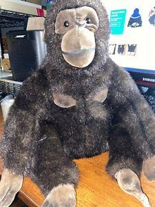 Plush Gorilla Classic Aurora 1996 Monkey