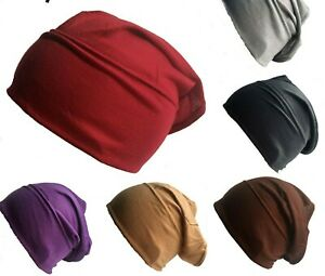 New Black Nude & Assorted Colour Under Hijab Tube Bonnet Cap