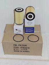Lot 4 Oil Filter SOE5316 Fits:PORSCHE 911 Carrera GT2 GT3 Targa Turbo Boxster &