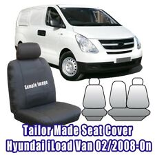 Custom Made Seat Covers For Hyundai I-LOAD iLoad Van 02/2008-Current Front ROW