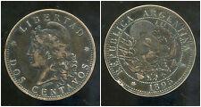 ARGENTINE 2 centavos 1895