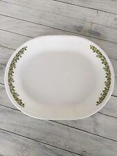 Vintage Corelle Spring Blossom / Crazy Daisy Oval Serving Platter