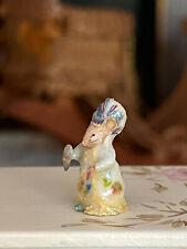 Vintage Miniature Dollhouse IGMA Mary O'Brien Beatrix Potter Mrs. Tiggy-Winkle