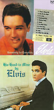 LOT DE 2  CDS ELVIS PRESLEY- HIS HAND IN MINE / SOMETHING FOR EVERYBODY-BMG