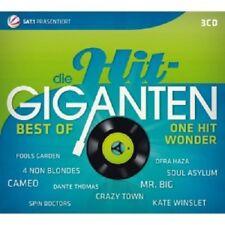 DIE HIT GIGANTEN-BEST OF ONE HIT WONDER (CAMEO/CRAZY TOWN/MR.BIG/+) 3 CD NEU