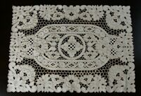 Embroidery Polyester Embroidered Cutwork Table Placemat Runner Wedding Party