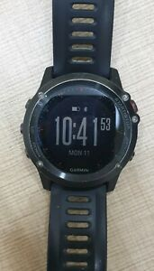 USED Garmin Fenix 3 GPS Watch, Gray/Black