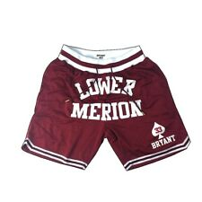 Kobe Bryant Lower Merion High School #33 Authentic Embroidered Basketball Shorts