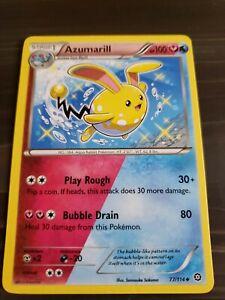 Pokemon Steam Siege Azumarill Single Card Uncommon