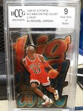 1996 Skybox Z-Force Big Men On Court Z Peat Michael Jordan #4 BCCG 9!!
