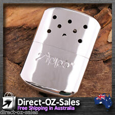 Zippo Chrome Hand Warmer + Filling Pouch OZ Seller -- Free Post!