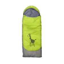 outdoorer Kinderschlafsack Dream Express–kuschelig warm, mit Giraffenapplikation