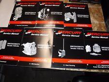 2005 MERCURY 200/225/250/275 VERADO 4 STROKE 9 VOL FACTORY SERVICE MANUAL + CD