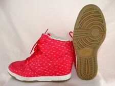 the best attitude 8210f c1622 Nike Dunk Sky High Damen Sneaker 543258-600 rot-weiß EU 40 US 8