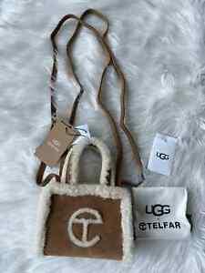 UGG x TELFAR Small Shopper - Chestnut Shopping Bag Shearling Limited CONFIRMED