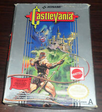 Nintendo NES. Castlevania. Boxed. Konami (PAL AUS/IT/UK)