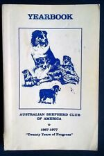 More details for australian shepherd club of america 1957 - 1977 asca yearbook. aussie dog book.