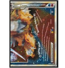 Suicune & Entei Legend 95/95 Ultra Rare Holo Foil Bottom Half/Halve Pokemon Card