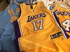 Andrew Bynum Los Angeles Lakers Authentic Adidas Mens Jersey Size 40 medium L