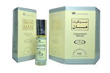 Uomo Segreto 6ml (scatola da 6) Al Rehab Profumo In Olio/Attar/Ittar