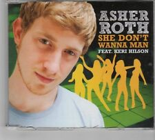 (GR22) Asher Roth, She Dont Want A Man ft Keri Hilson - 2009 DJ CD