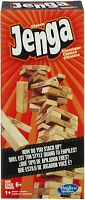 Jenga New Classic Game Wooden Blocks Stacking Tumbling Tower Blocks Game