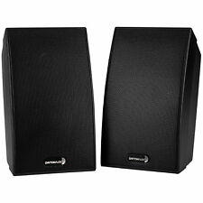 Dayton Audio SAT-BK 2-Way Satellite Speaker Pair Black
