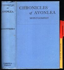 Lucy Maud Montgomery 1925 CHRONICLES OF AVONLEA 12 Short Stories 275 pages