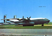 Postcard 20 - Aircraft/Aviation/Aus Antonov AN 22