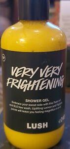 Lush Very Very Frightening Shower Gel NEW limited edition 240g