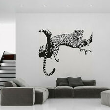 Leopard Tiger Wall Decal Home Removable Living Room Art Vinyl Wall Sticker
