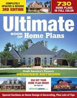 ULTIMATE BOOK OF HOME PLANS - CREATIVE HOMEOWNER (COR) - NEW PAPERBACK BOOK