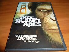 Rise of the Planet of the Apes (DVD, Widescreen 2011) James Franco Used