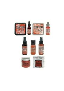 IN STOCK! Tim Holtz Distress Color of Month Set August 2020 - Crackling Campfire