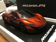 TRUE SCALE TSM 1/18 McLaren P1 VOLCANIC ORANGE 2012 Race Version TSM131802R RARE