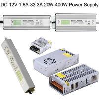 2.5A-33A AC90V-220V TO DC 12V Switch Power Supply Driver Adapter LED Strip Light