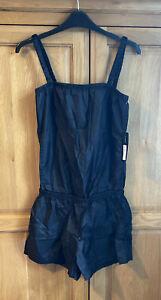 Bloch Leda Plastic Playsuit, Black, Small, BNWT