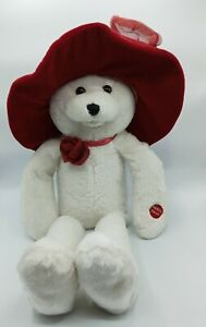 PBC Musical Chantilly Lane Ashley Teddy Bear Doll sings Beatles song I Will