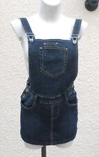Jupe Courte Salopette Jeans Solitude Taille M