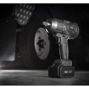 "Sealey Cordless Impact Wrench 18V 4Ah Lithium-ion 1/2"" Drive"
