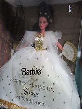 Sissy Imperatrice Barbie Empress Kaisering, gorgeous in gold & white, 1996[a*4]