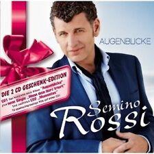 """SEMINO ROSSI """"AUGENBLICKE (GESCHENK-EDITION)"""" 2 CD NEU"""