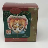 New Carlton Cards Heirloom Christmas Ornament Sweethearts Our First 1st  2005