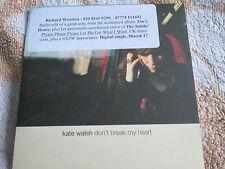 Kate Walsh Don't Break My Heart / Please HEARTCJ2 blueberry pie Promo CD Single