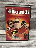 The Incredibles 2-Disc Collector's Edition DVD Widescreen Disney Pixar Superhero