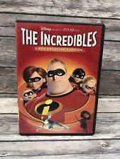 The Incredibles 2-Disc Collector's Edition Dvd Widescreen Disney Pixar Superhero