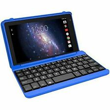 "NEW RCA Voyager Pro 16GB 7"" Touchscreen Quad-Core PC Tablet + Keyboard Blue"