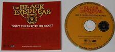 Black Eyed Peas  Don't Phunk With My Heart x 2  2005 U.S. promo cd  -Rare!