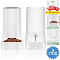 Automatic Pet Dog Cat Food Water Dispenser Feeder Self Feeding Bowl Bottle